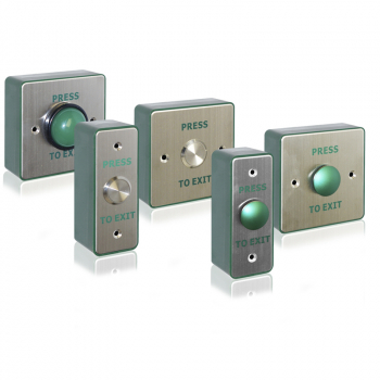 Metal Exit Buttons