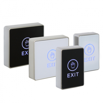 Architectural Touch Exit Buttons